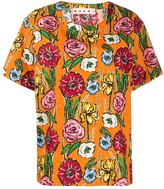 Marni floral-print cotton T-shirt