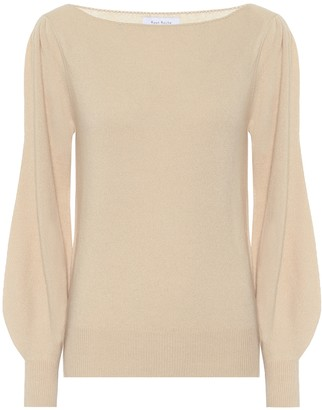Ryan Roche Cashmere boatneck sweater