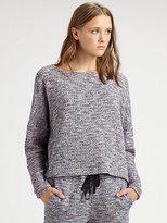 Band Of Outsiders Tweed Sweatshirt