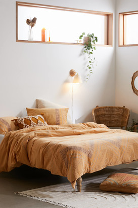 Urban Outfitters Caprio Embroidered Duvet Cover