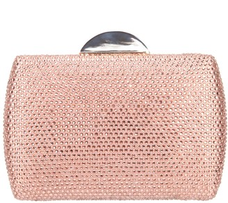 Nina Crystal Minaudiere Clutch - Pacey