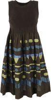 Issey Miyake Tribal Print Dress