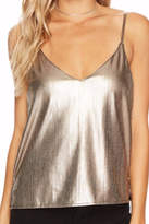 Bishop + Young Metallic Cami Top