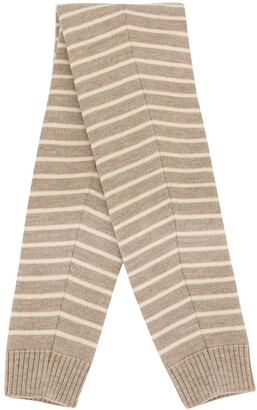 Fumito Ganryu Striped Tube Scarf
