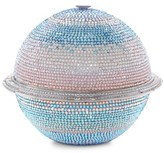 Judith Leiber Couture Saturn Sphere Crystal Clutch
