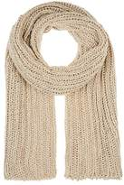 Barneys New York WOMEN'S OVERSIZED CABLE-KNIT SCARF