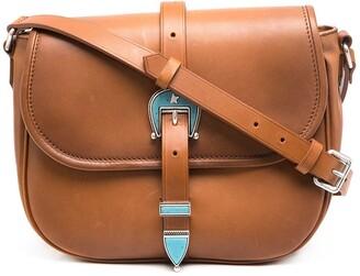 Golden Goose Buckled Crossbody Bag
