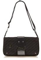 Christian Dior Pre-owned: Diorissimo Jacquard Shoulder Bag.