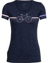 Icebreaker Tech Lite Fixie Scoop Neck Shirt - Short-Sleeve - Women's Fathom