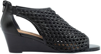 Supersoft By Diana Ferrari Kluger Black Sandal