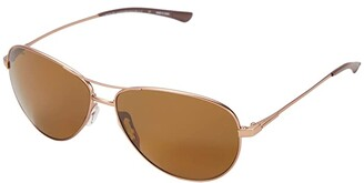 Smith Optics Langley (Matte Rose Gold/Polarized Brown) Fashion Sunglasses