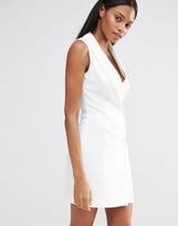 Missguided Wrap Over Blazer Dress
