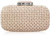 Oscar de la Renta Embroidered Goa Clutch