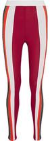 NO KA 'OI No Ka'Oi Kea Paneled Stretch-Knit And Stretch-Jersey Leggings