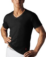 Polo Ralph Lauren Classic Fit V-Neck T-Shirts-3 Pack