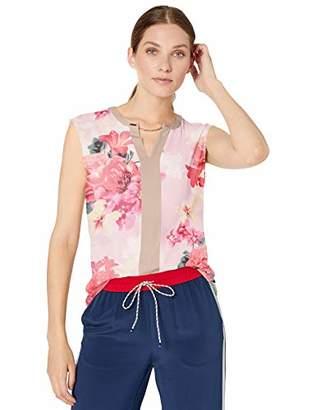 Calvin Klein Women's Sleeveless Top with Chain Detail