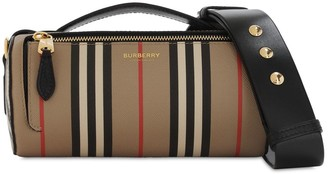 Burberry Barrel Coated Canvas Bag