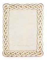 "Jay Strongwater Cream Braided Frame, 5"" x 7"""