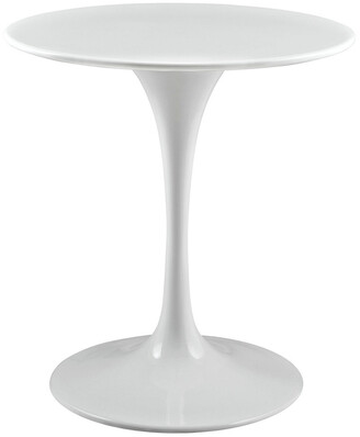 Modway Lippa 28In Round Wood Top Dining Table