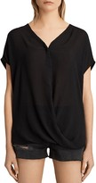 AllSaints Twist Top