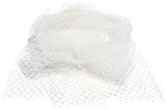 Stephen Jones #443 First Net And Sinamay Fascinator - Womens - Ivory