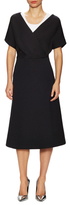 Jil Sander Jersey Scoopneck Flared Dress
