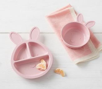 Pottery Barn Kids Astrik Bunny Shaped Tabletop Set