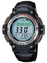 Casio Men's Digital Compass Sport Watch - Black/Green (SGW100B-3V)