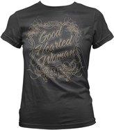Kings Road Juniors: Waylon Jennings - Good Hearted Woman Juniors (Slim) T-Shirt Size S