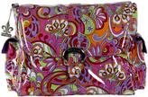 Kalencom Floral Pink Laminated Diaper Bag