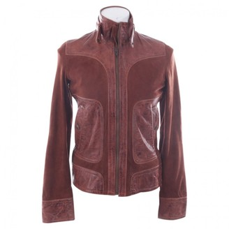 Drykorn Brown Leather Jacket for Women