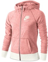 Nike Girls' Vintage Marled Jersey Gym Hoodie - Big Kid
