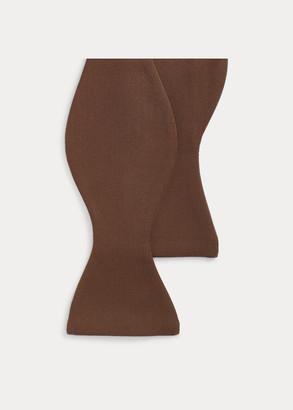 Ralph Lauren Wool Gabardine Bow Tie
