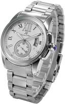 K&S KS Men's Date Stainless Steel Automatic Mechanical Wrist Watch + Gift Box KS065