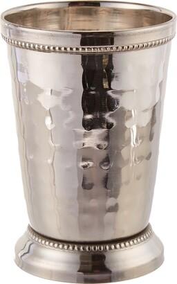 Elégance 12 oz Hammered Mint Julep Cup Large