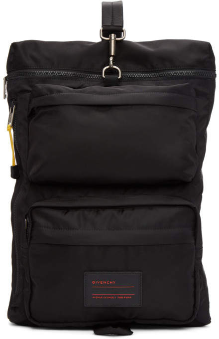 Givenchy Black UT3 Backpack