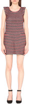 Claudie Pierlot Trapeze striped knitted dress
