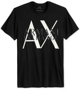 Armani Exchange Men's Transparent Logo Graphic-Print T-Shirt