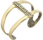 The Sak Woven Texture Open Cuff Bracelet