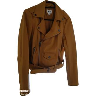 Bel Air \N Yellow Leather Jacket for Women