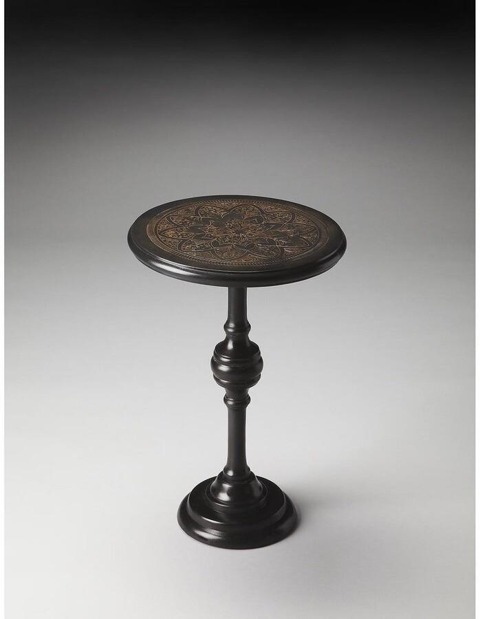 Butler Handmade Selma Black Aluminum End Table