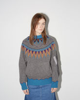 Sacai Nordic Pattern Pullover