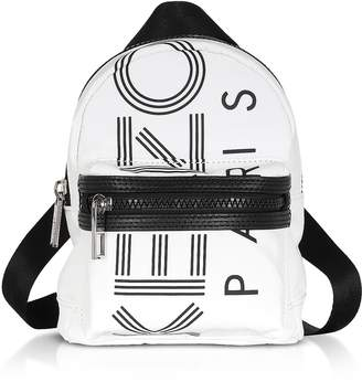 Kenzo Off White Sport Mini Logo Backpack