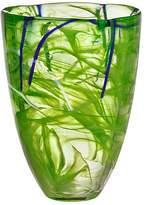 Kosta Boda Contrast Vase, Orange