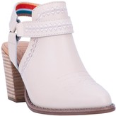 Dan Post Embroidered Slingback Booties - Concho