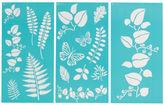 Martha Stewart Large Stencils 3/pkg-ferns & Boughs 8.75x16.75 17 Designs, Pk 1