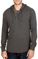Lucky Brand Liven In Hooded Thermal Henley