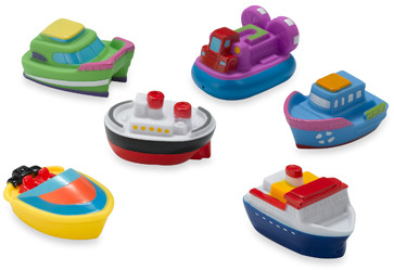 Bed Bath & Beyond Boat Squirties Bath Set by Elegant Baby®