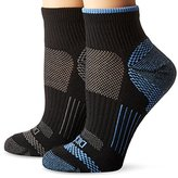 Dickies Women's 2 Pack Sorbtek Moisture Control and Wicking Quarter Socks
