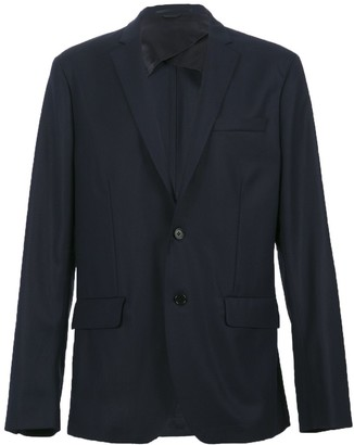 Acne Studios Navy Suit Jacket